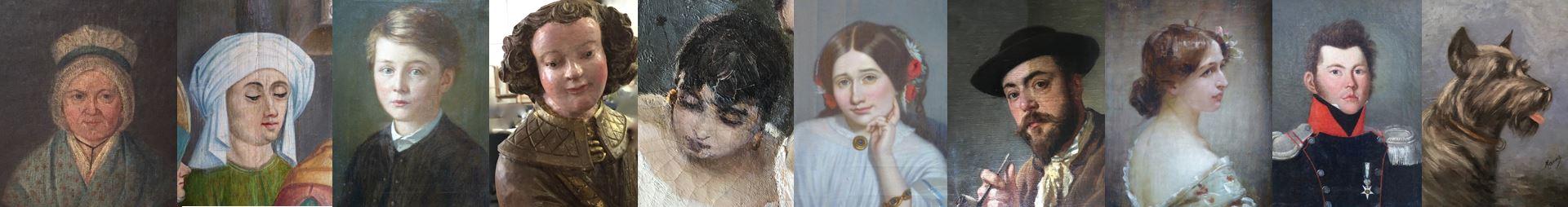 Restauration de portrait | Atelier de Montravel