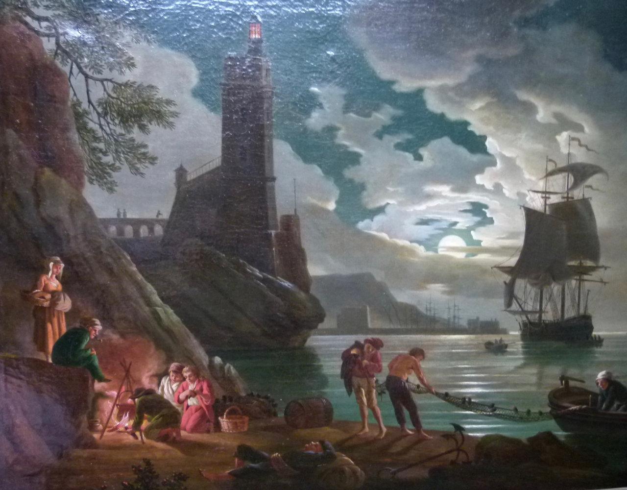 Après la restauration du tableau de Vernet | Atelier de Montravel