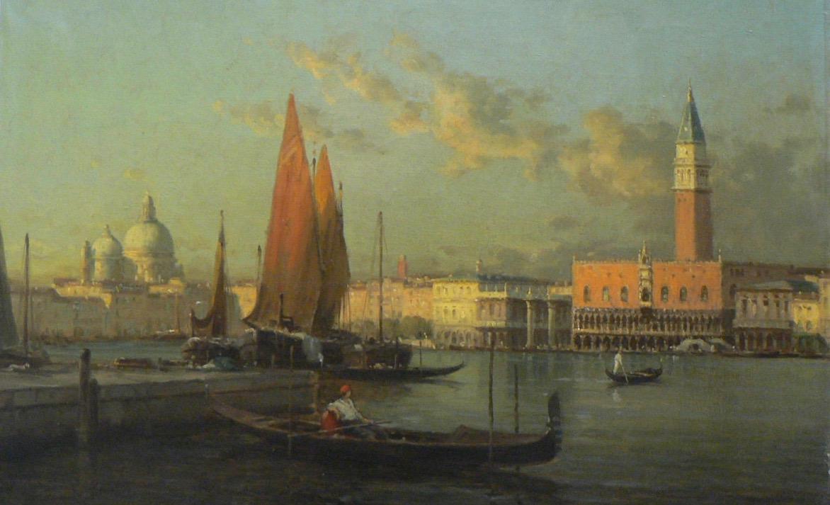 Restauration du tableau de Venise | Atelier de Montavel