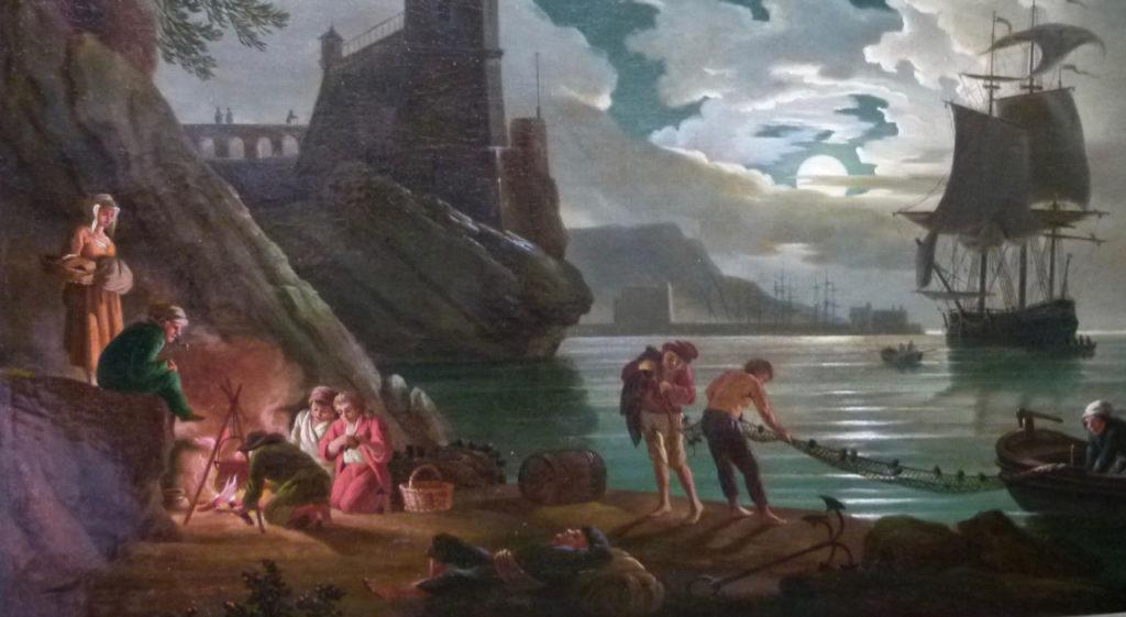 Restauration du tableau de Marine | Atelier de Montavel